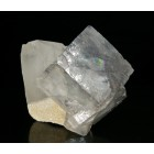 Fluorite and  quartz M02411